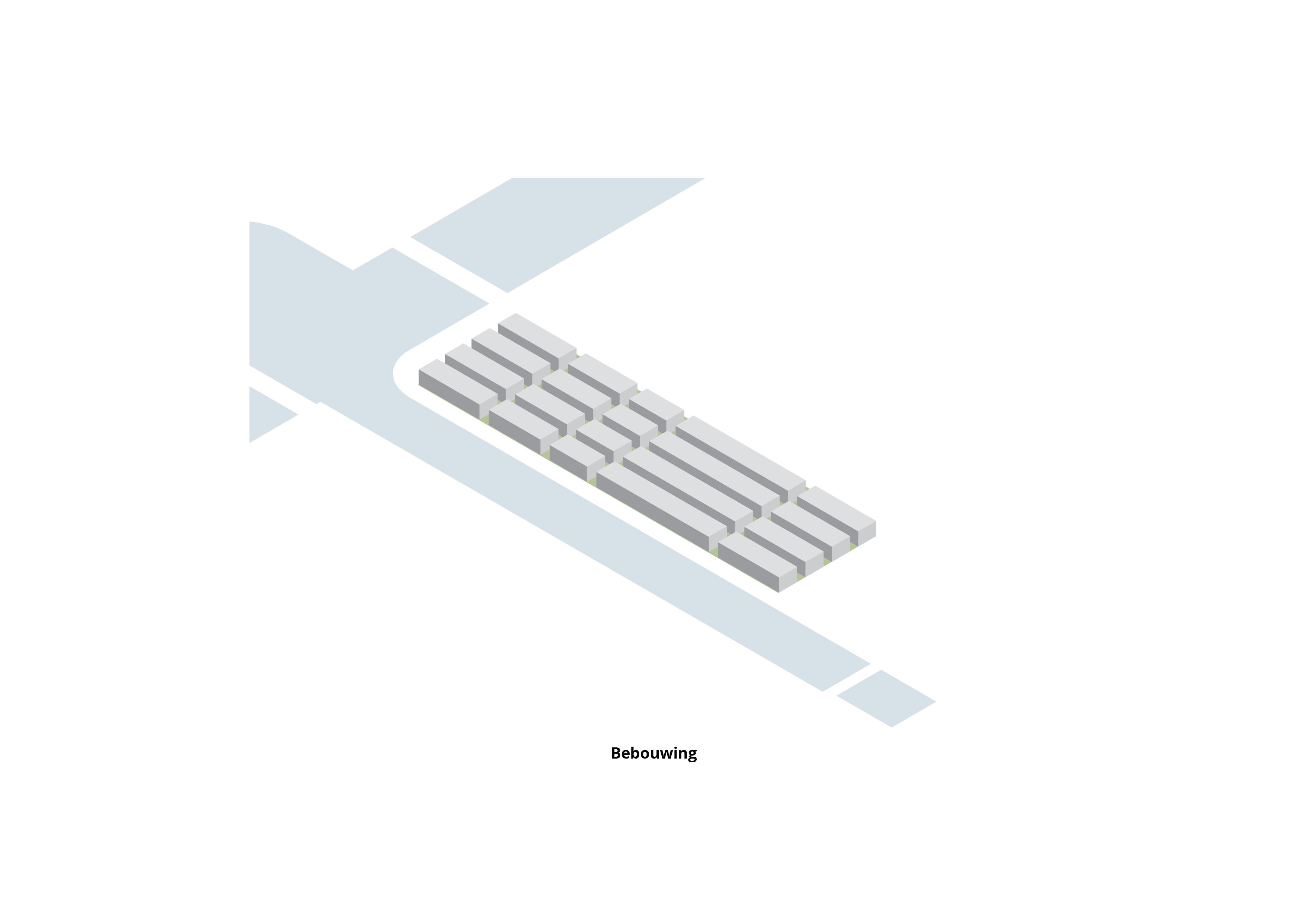 Oosterhamrikzone – Bebouwing