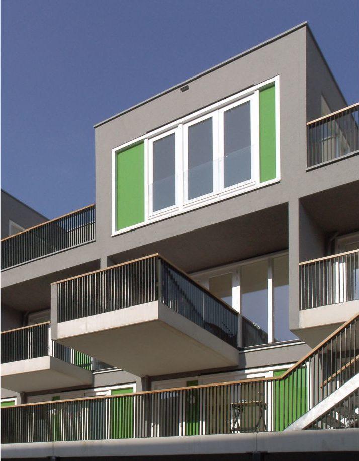 Lootsbuurt – Balkon achtergevel