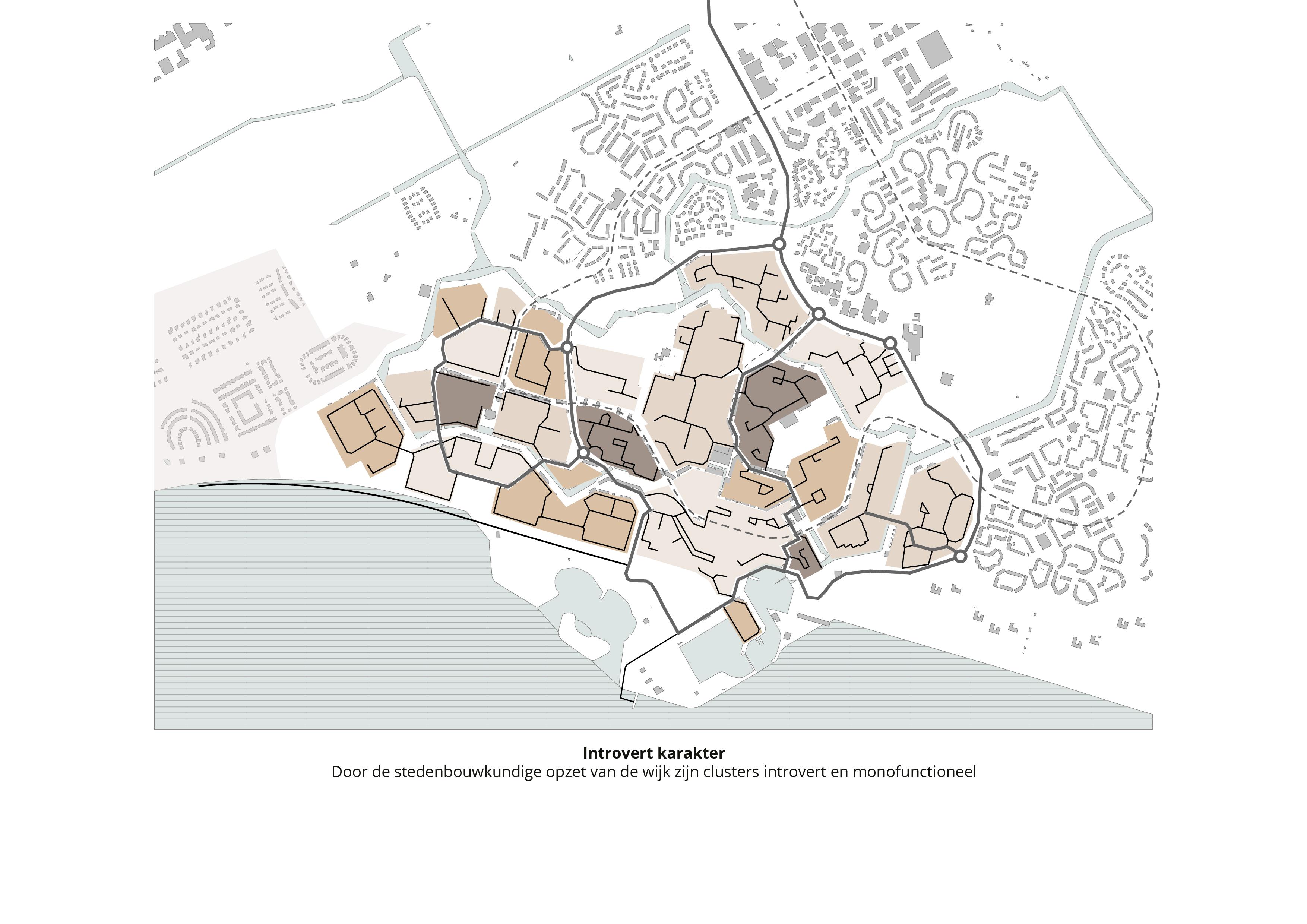 Koppelknopen Almere Haven – Introvert karakter