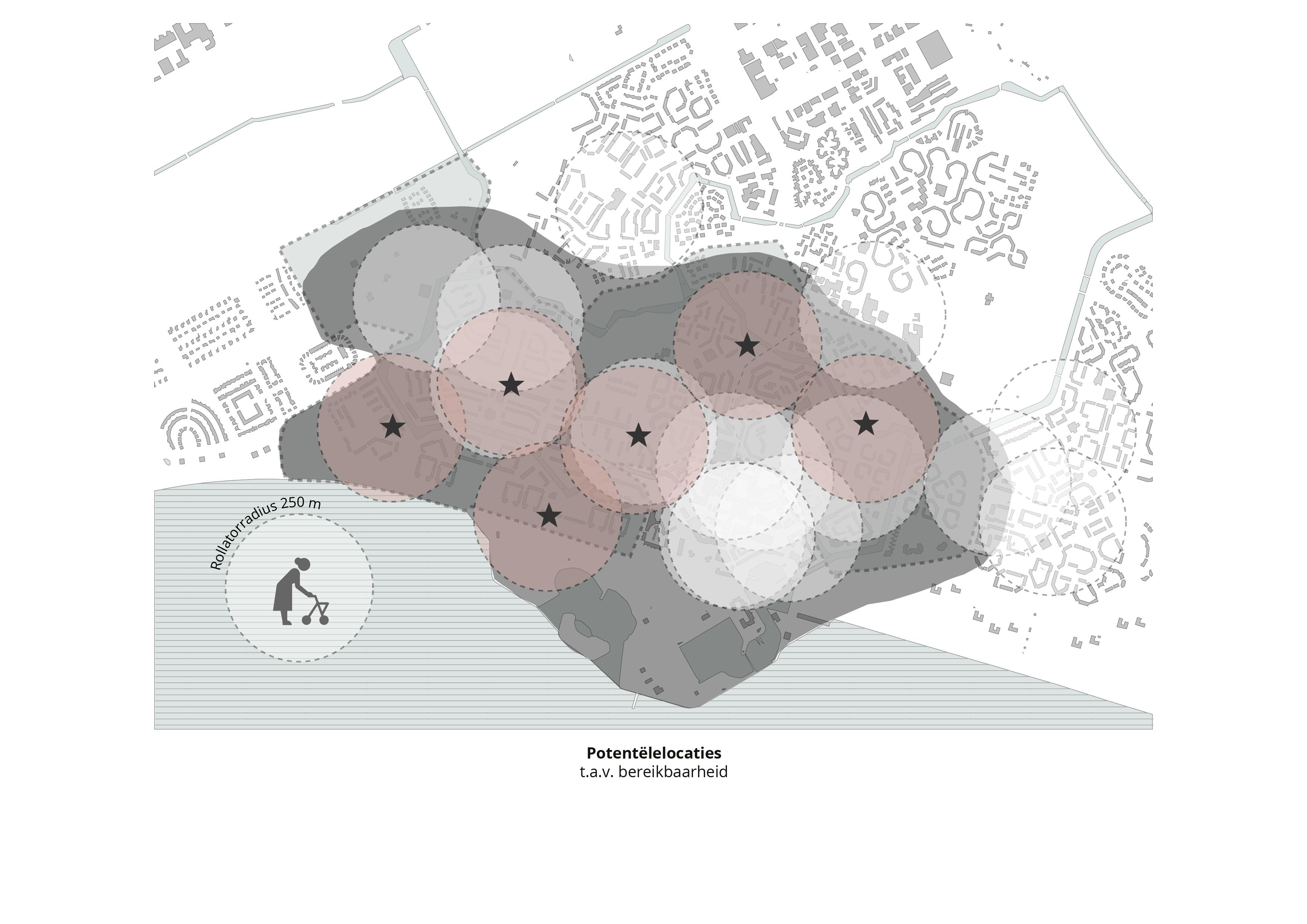 Koppelknopen Almere Haven – Potentële locaties