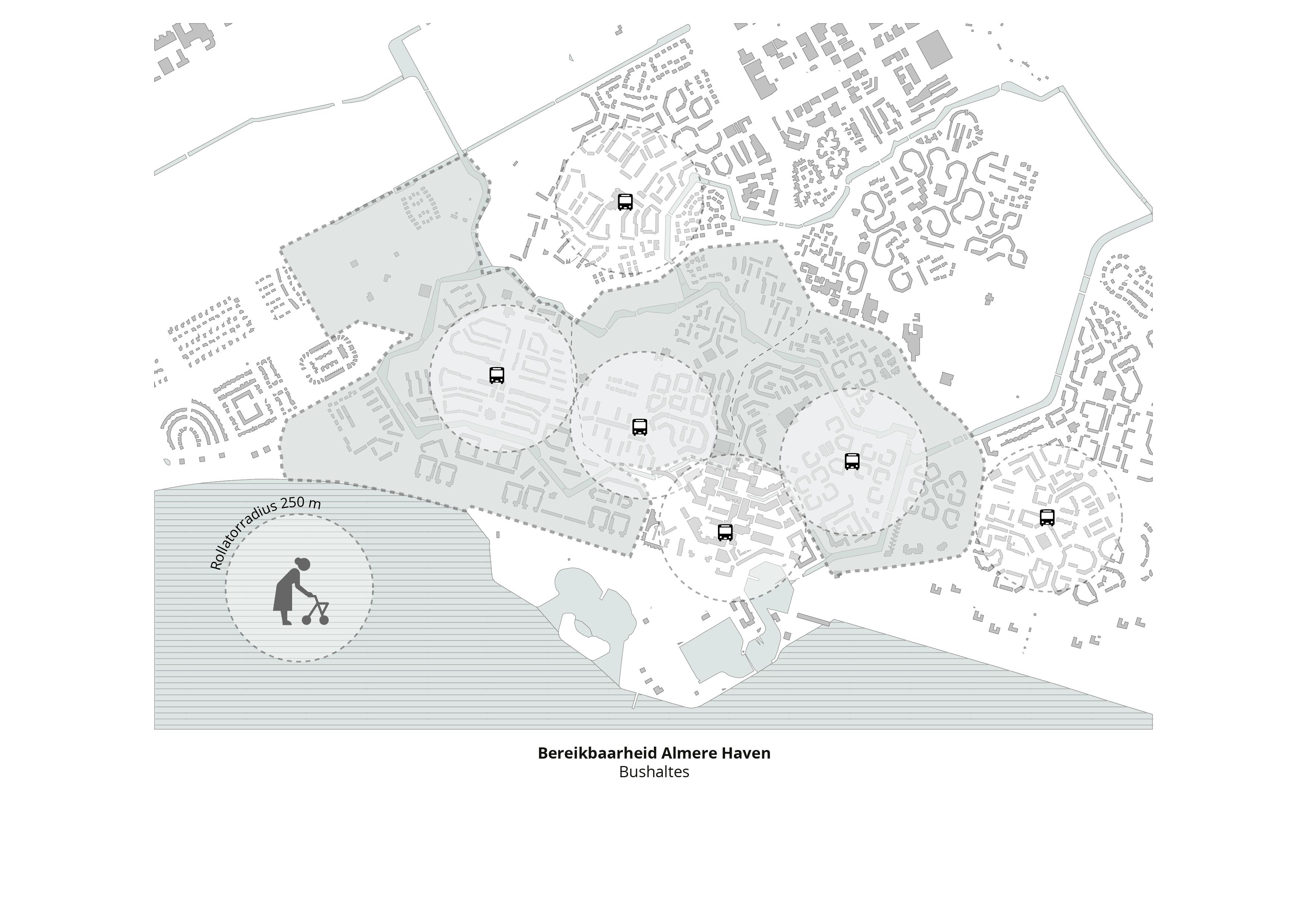 Koppelknopen Almere Haven – Bushaltes