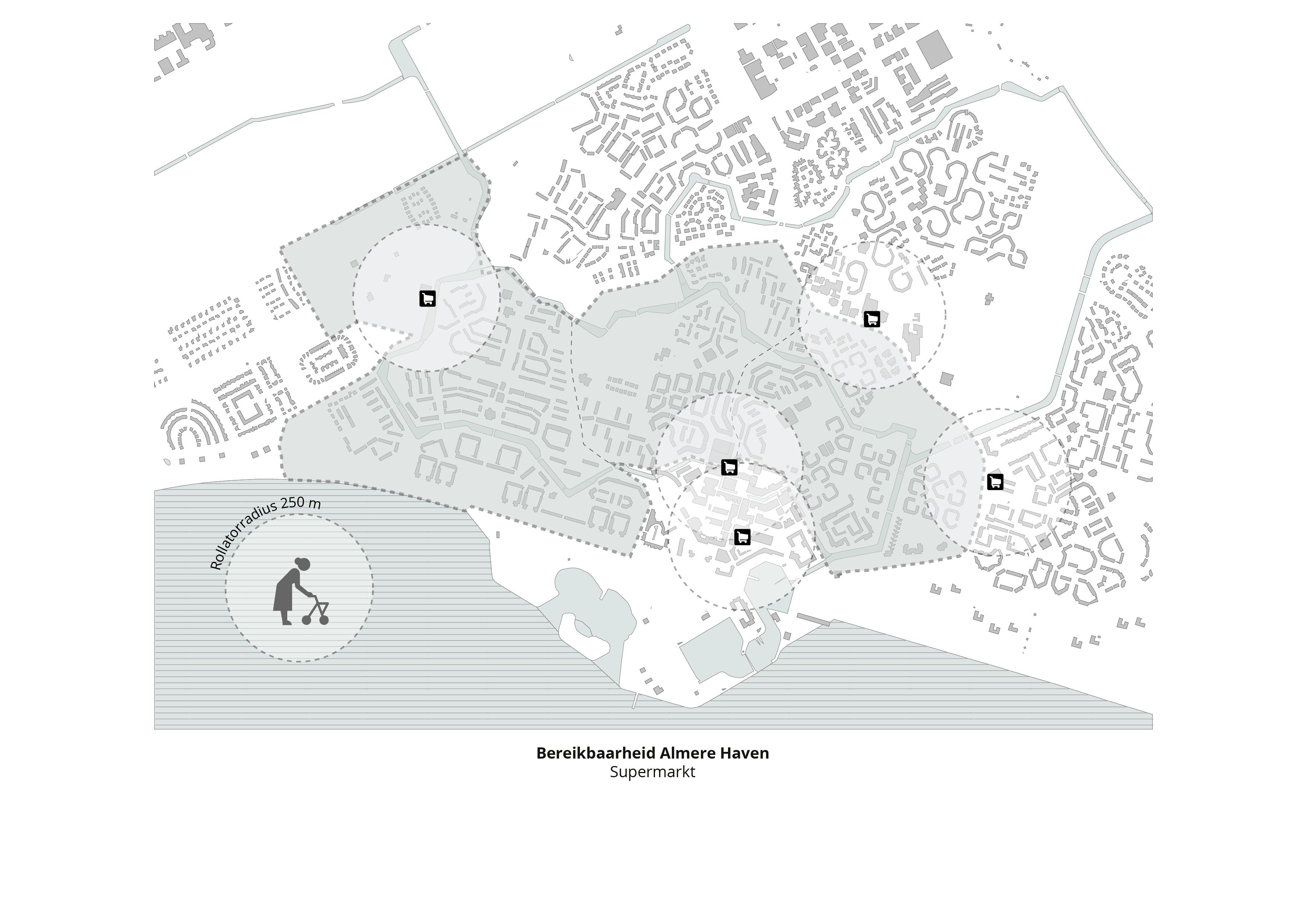 Koppelknopen Almere Haven – Supermarkt