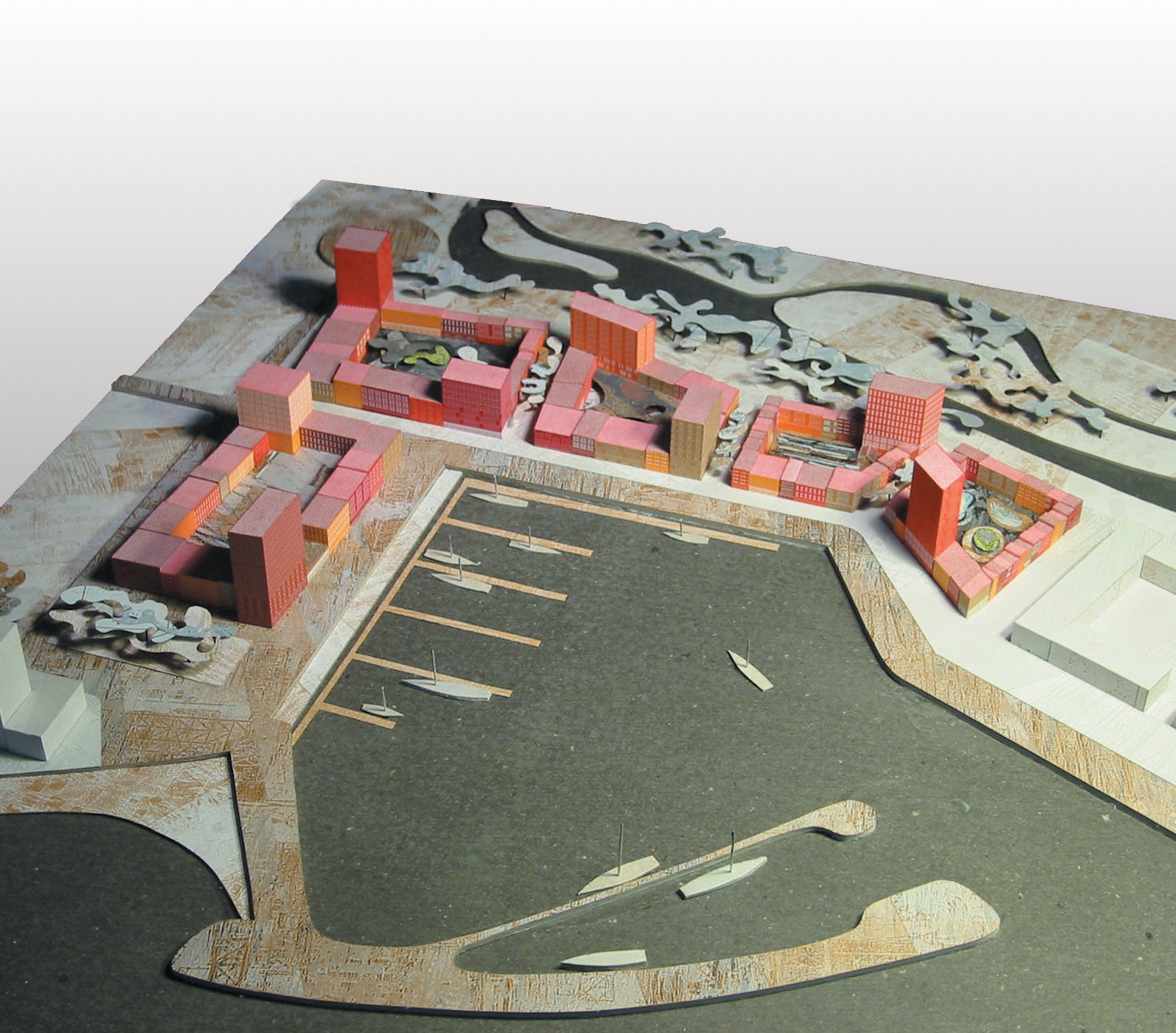 Havenkwartier Lelystad – Maquette