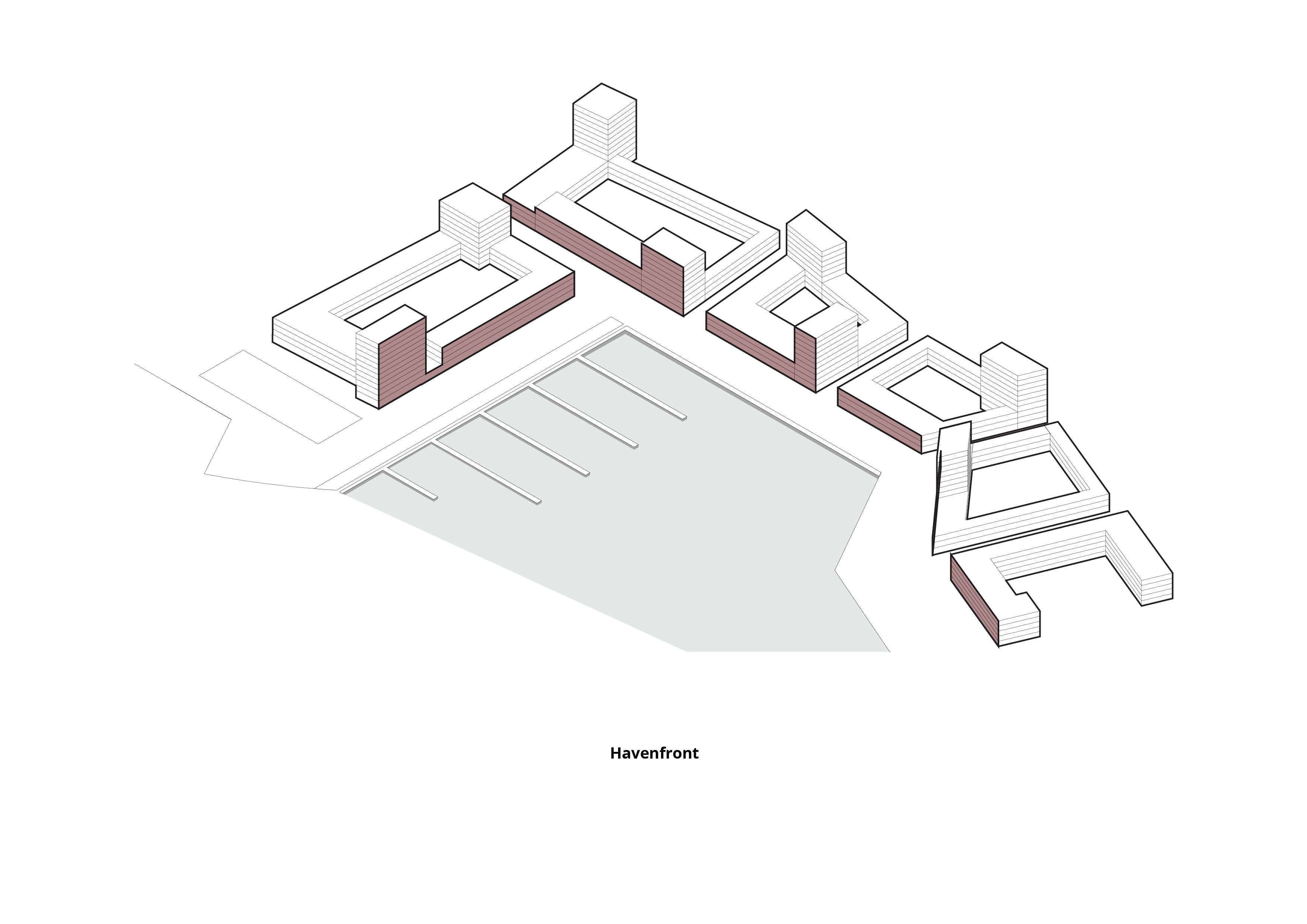 Havenkwartier Lelystad – Havenfront