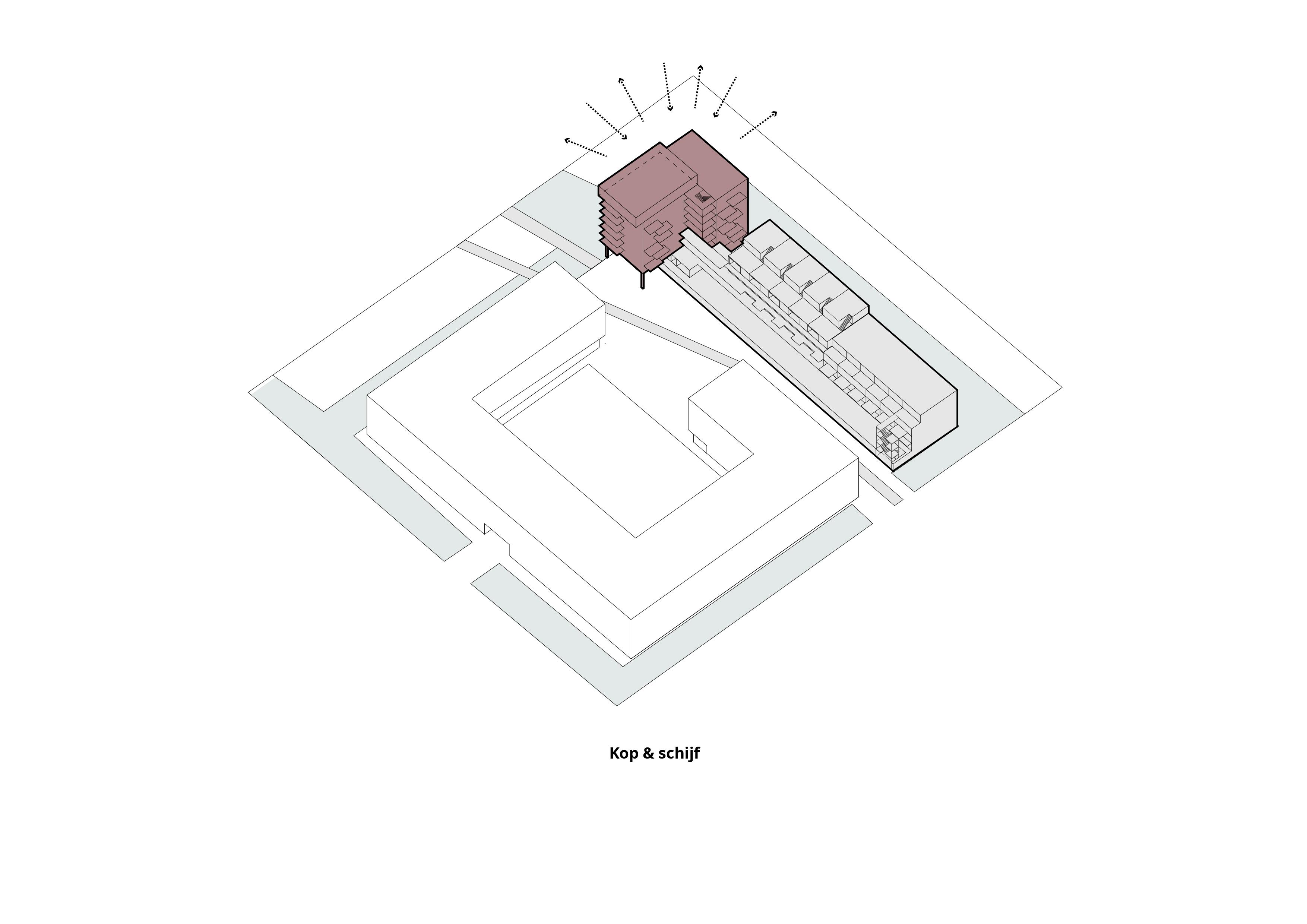 The Family Spoorzone Delft – Kop en schijf