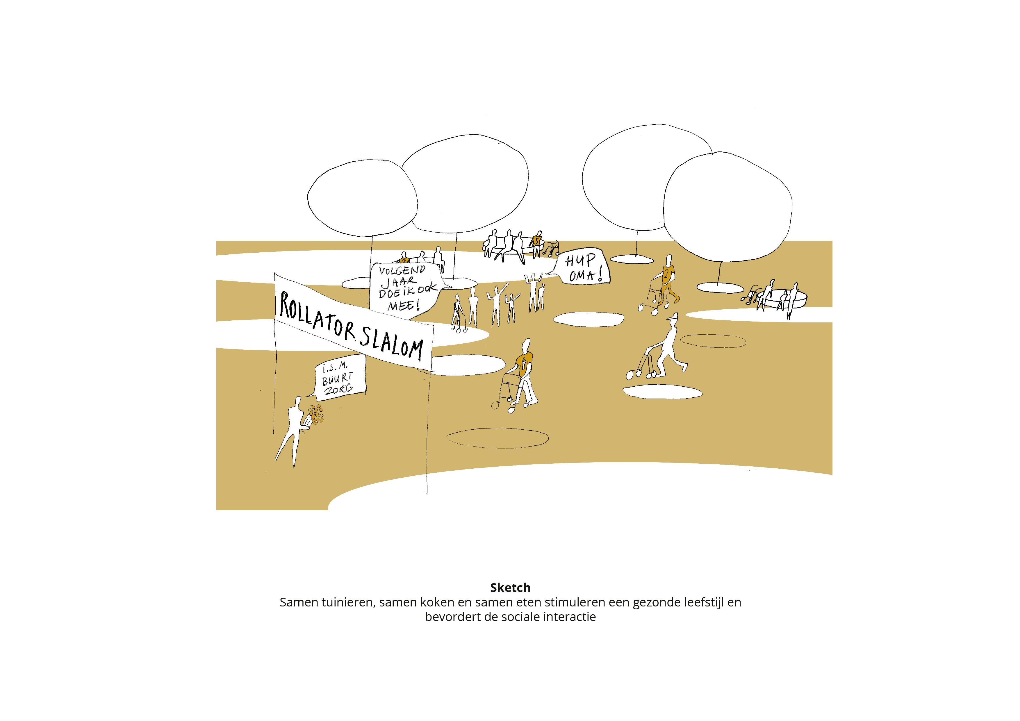 Koppelknopen Almere Haven -Sociale interactie
