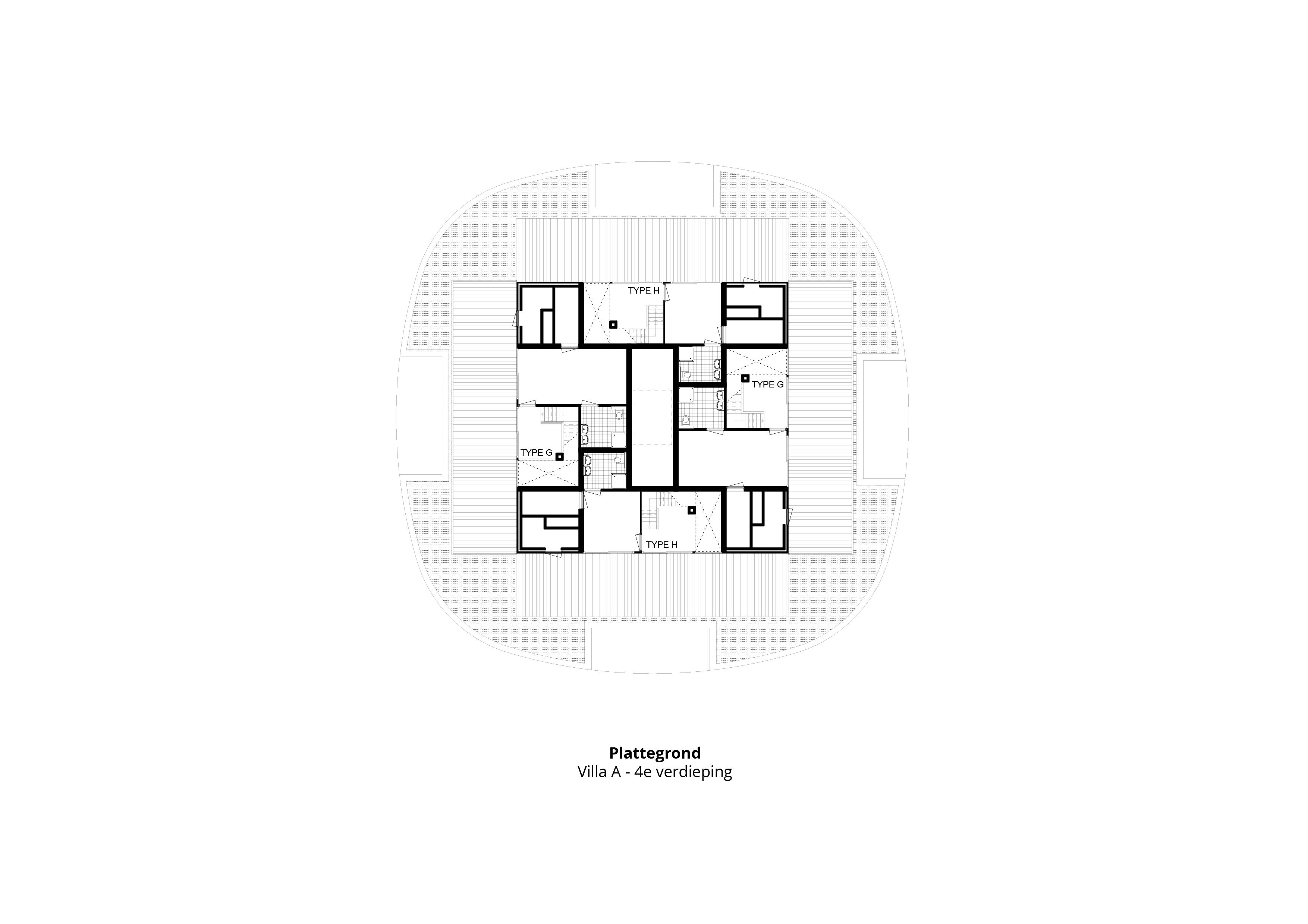 Laanvilla's Noordwijkerduin – Plattegrond