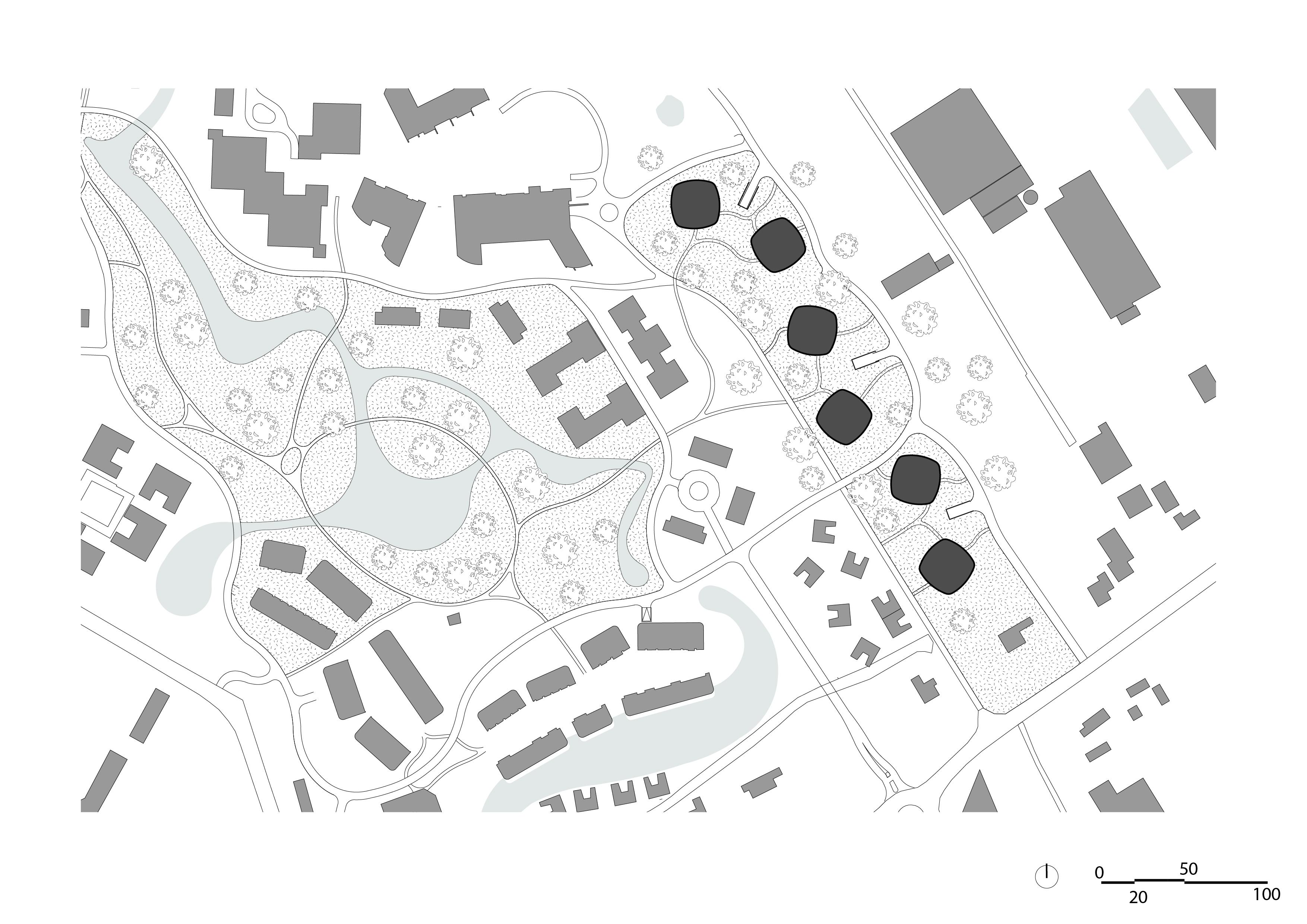 Laanvilla's Noordwijkerduin – Situatie