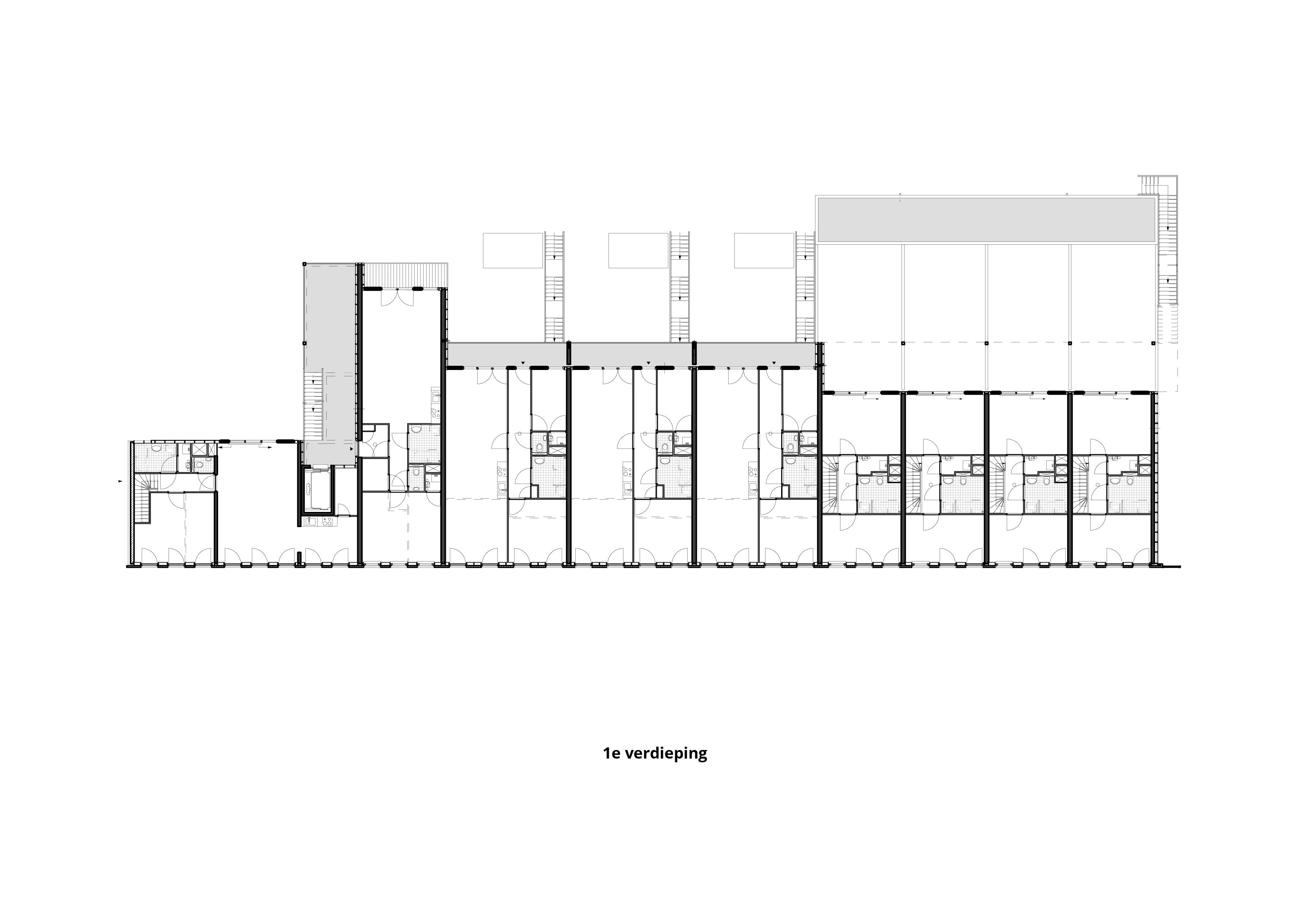 Lootsbuurt – 1e verdieping