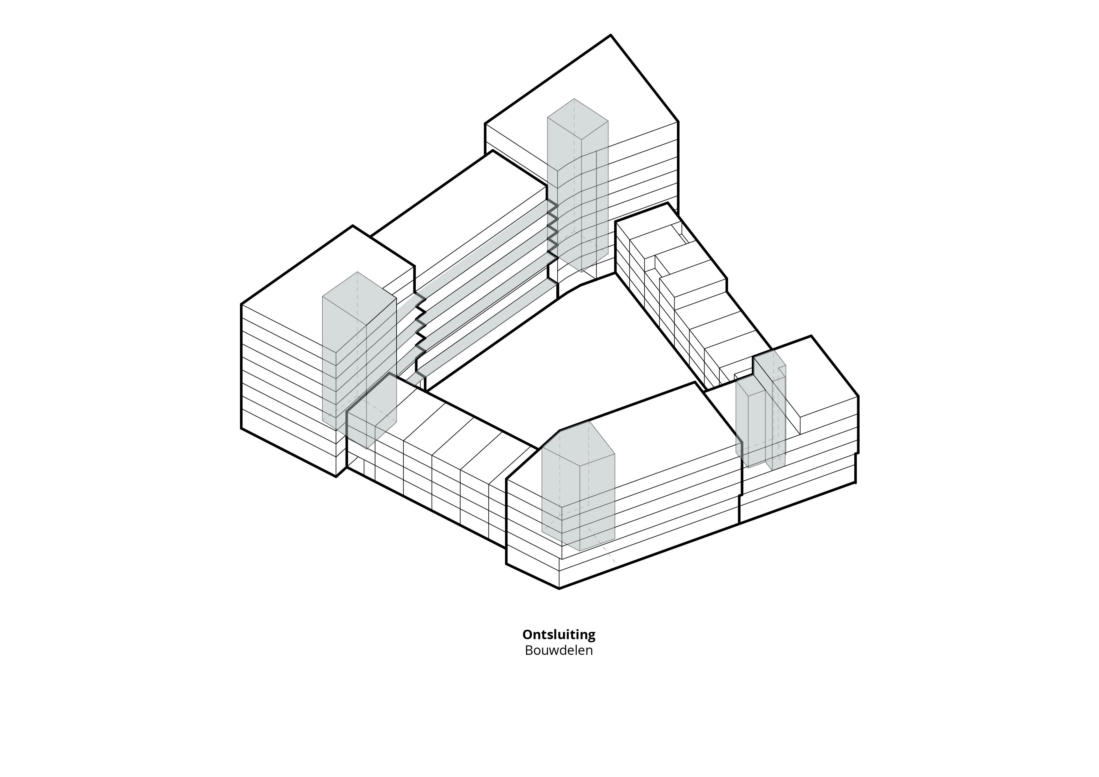 Metropolloyd – Ontsluiting woningen