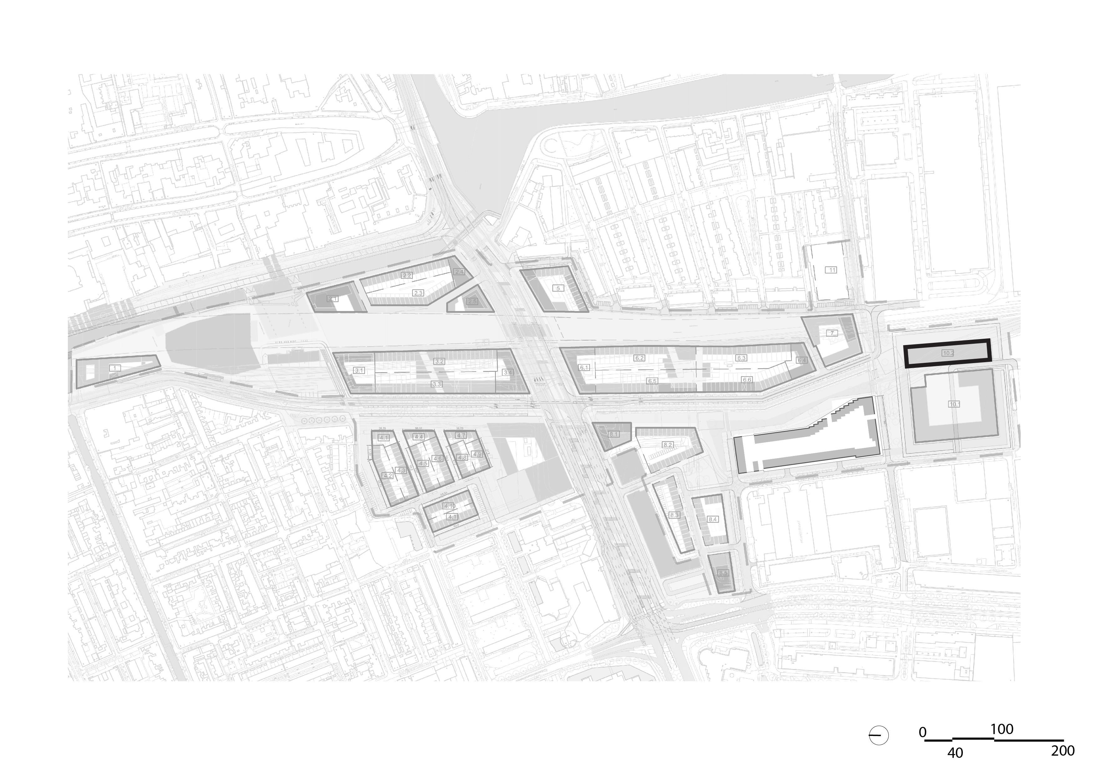 The Family Spoorzone Delft – Situatie