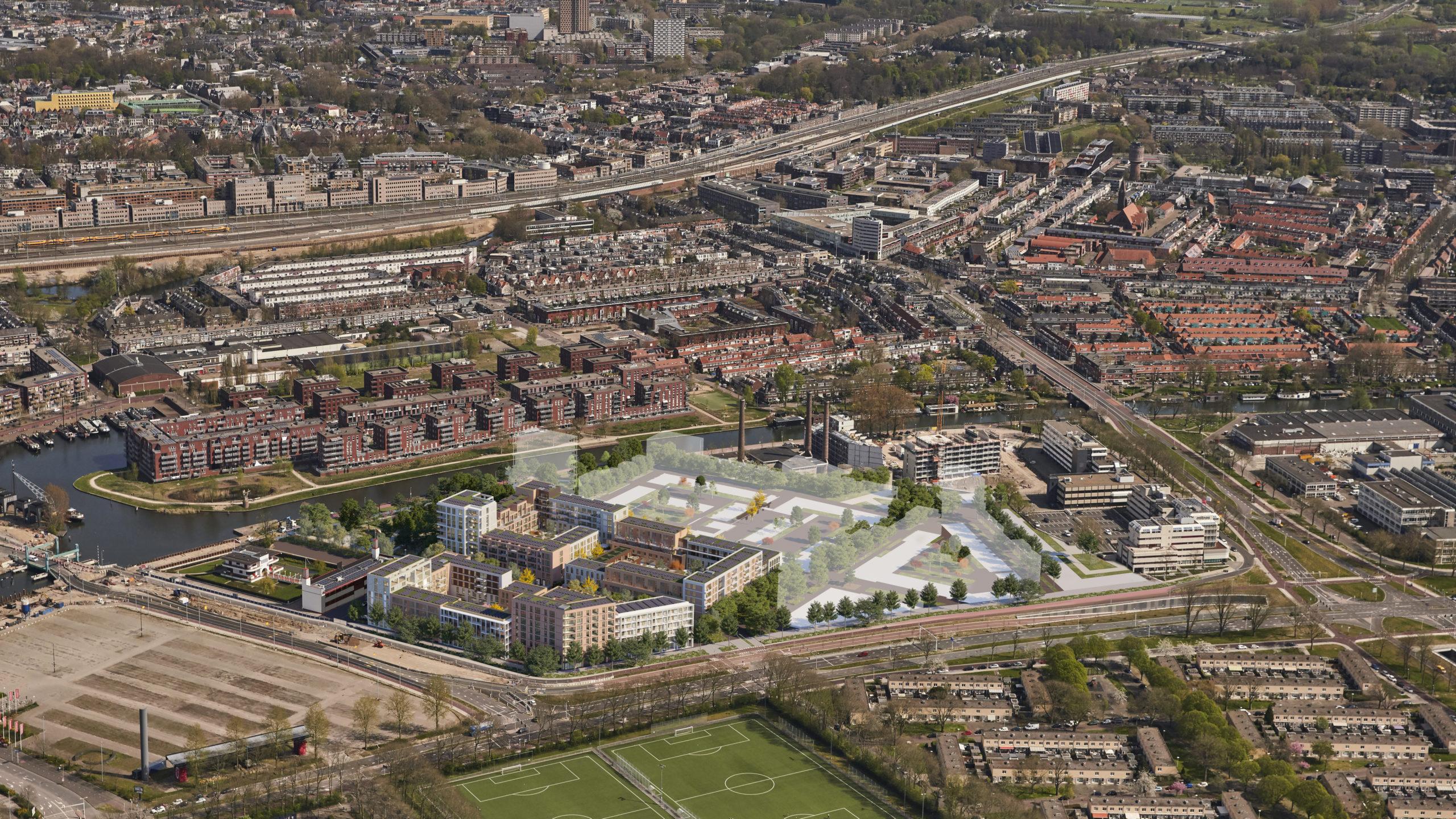 Defensieterrein Utrecht - Vogelvlucht (Copyright 3D capacity)