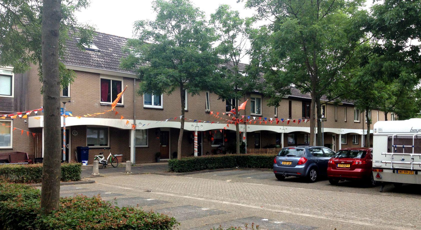 Almere Waterwijk bestaande situatie