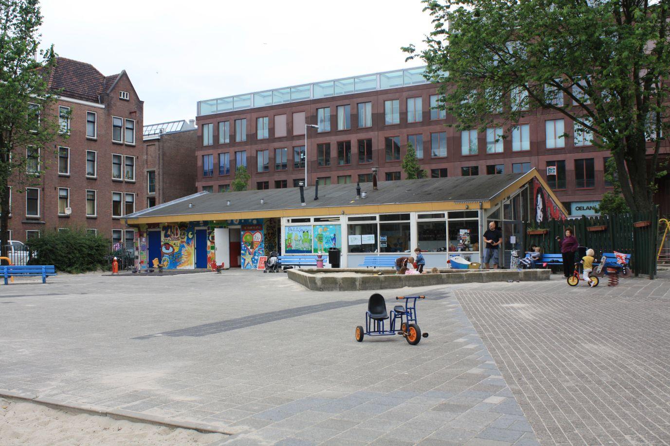 Speeltuingebouw Barentzplein – Oude situatie