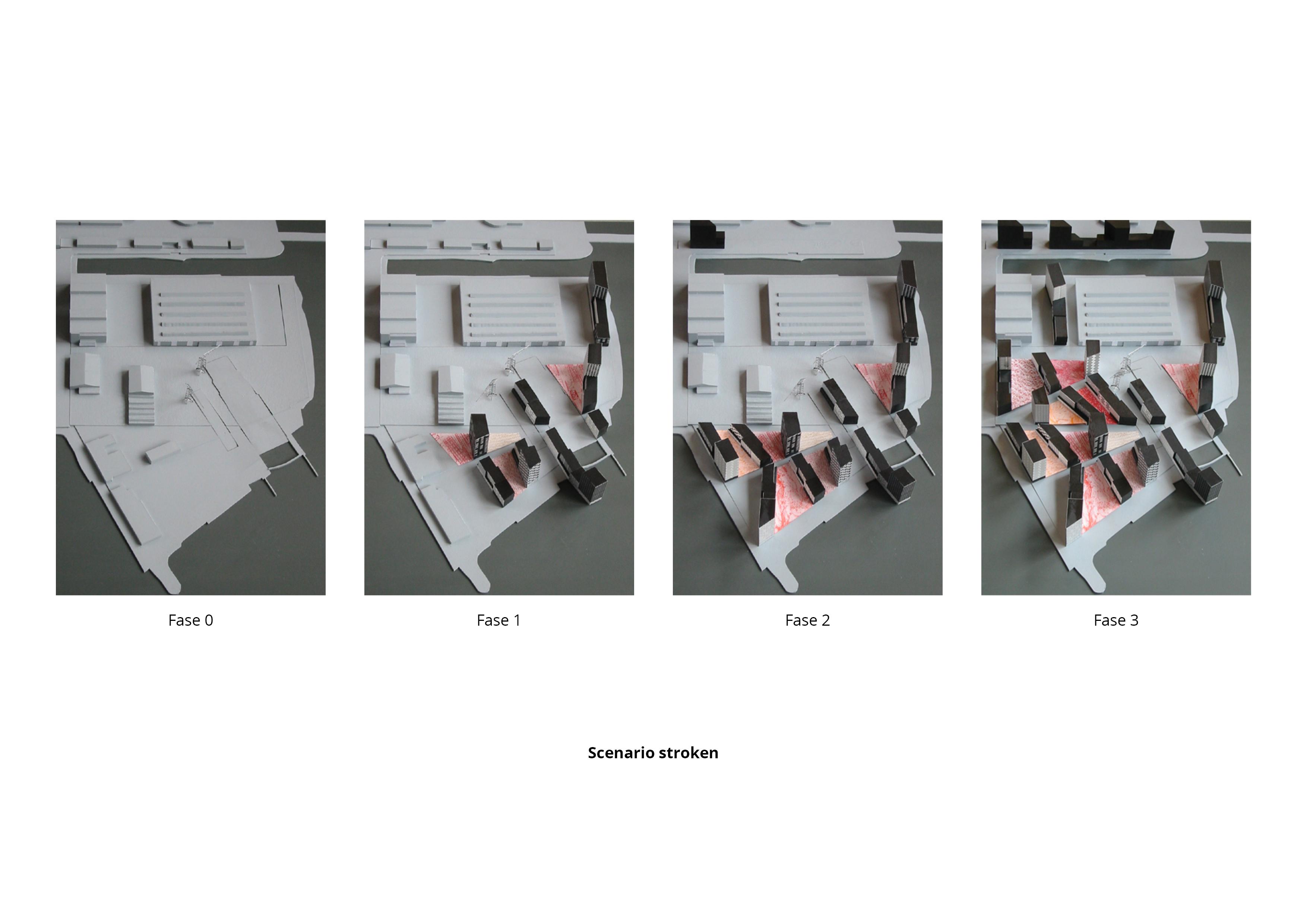 NDSM Terrein – Scenario stroken
