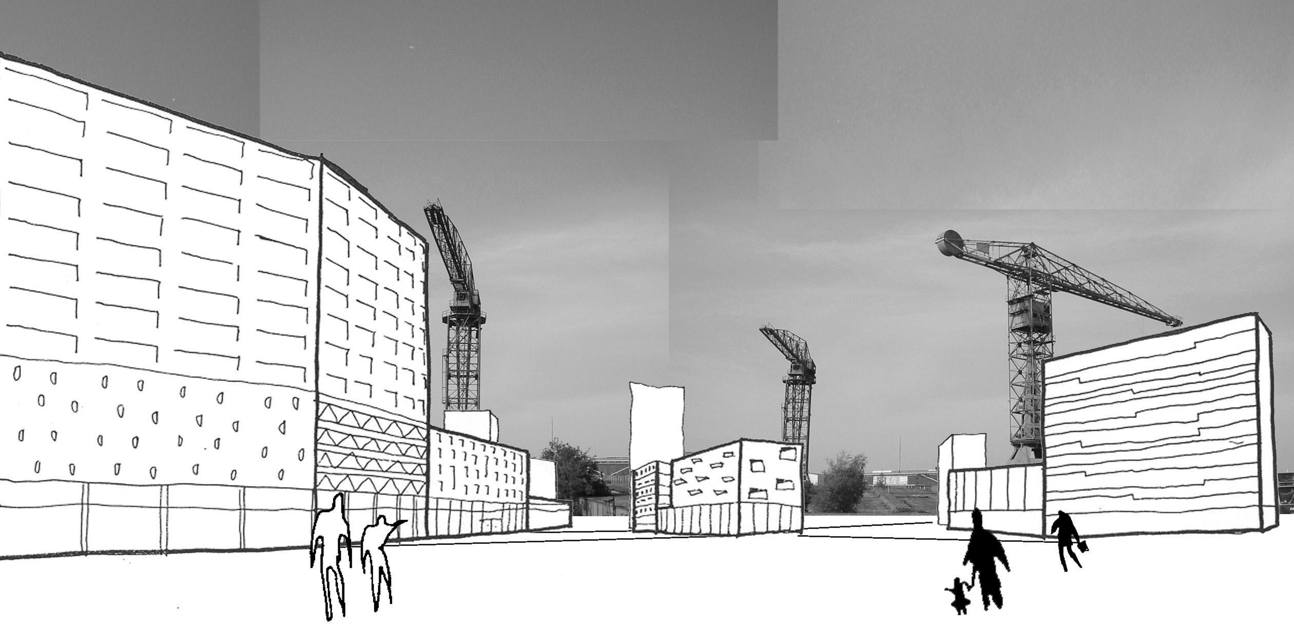 NDSM Terrein – Collage