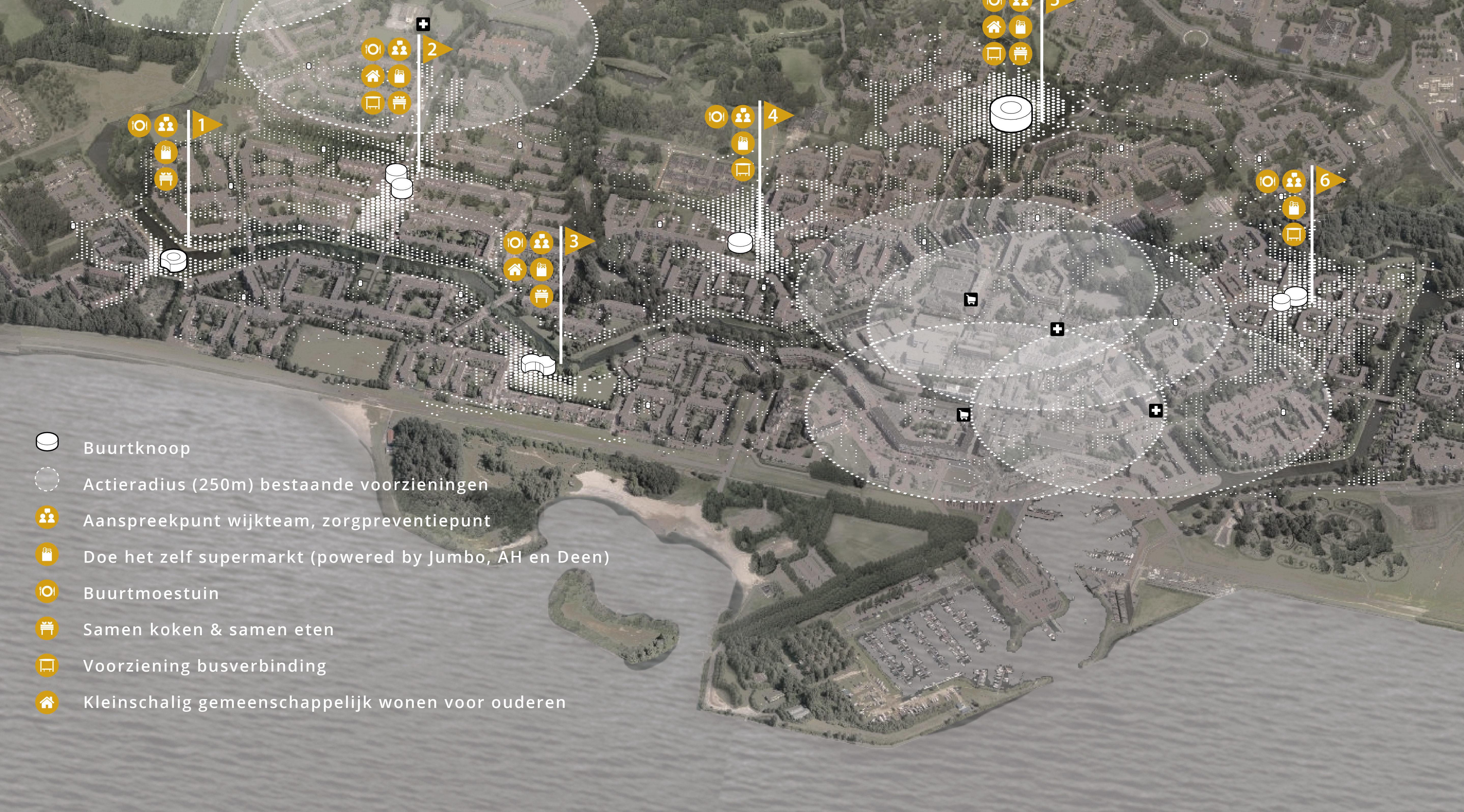 Koppelknopen Almere Haven – Overzicht